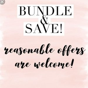 ❤Bundle & Save💕